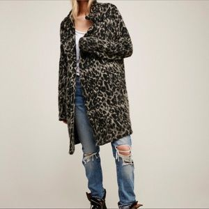 Free People Wild Thing Coat Oversized Trench XS
